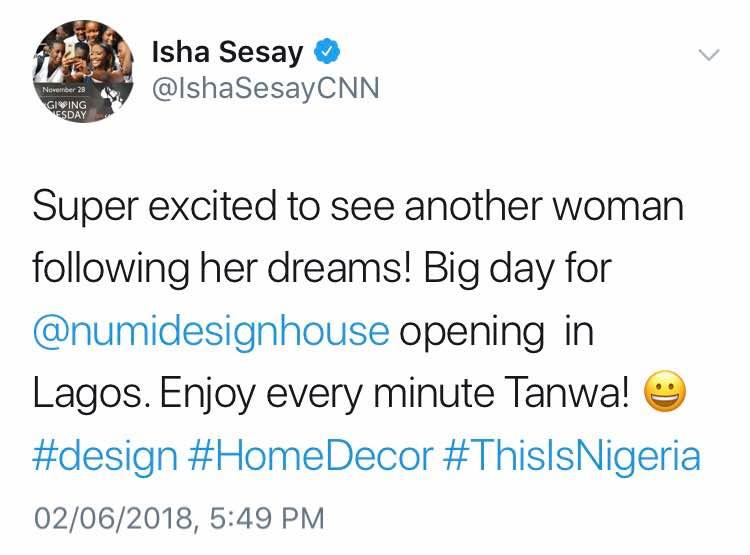 Isha Sensay News